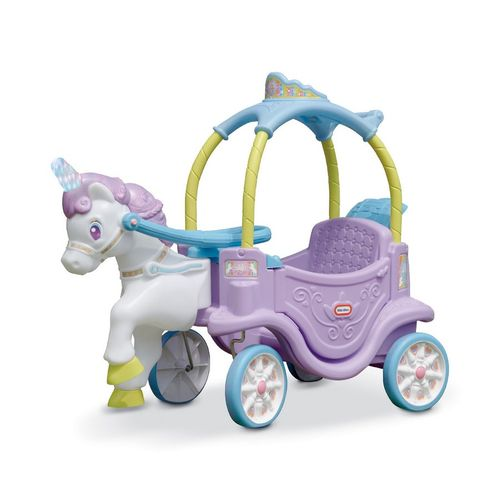 Carruagem com Unicórnio Little Tikes